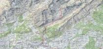 Tour Karte Altmann Schweiz