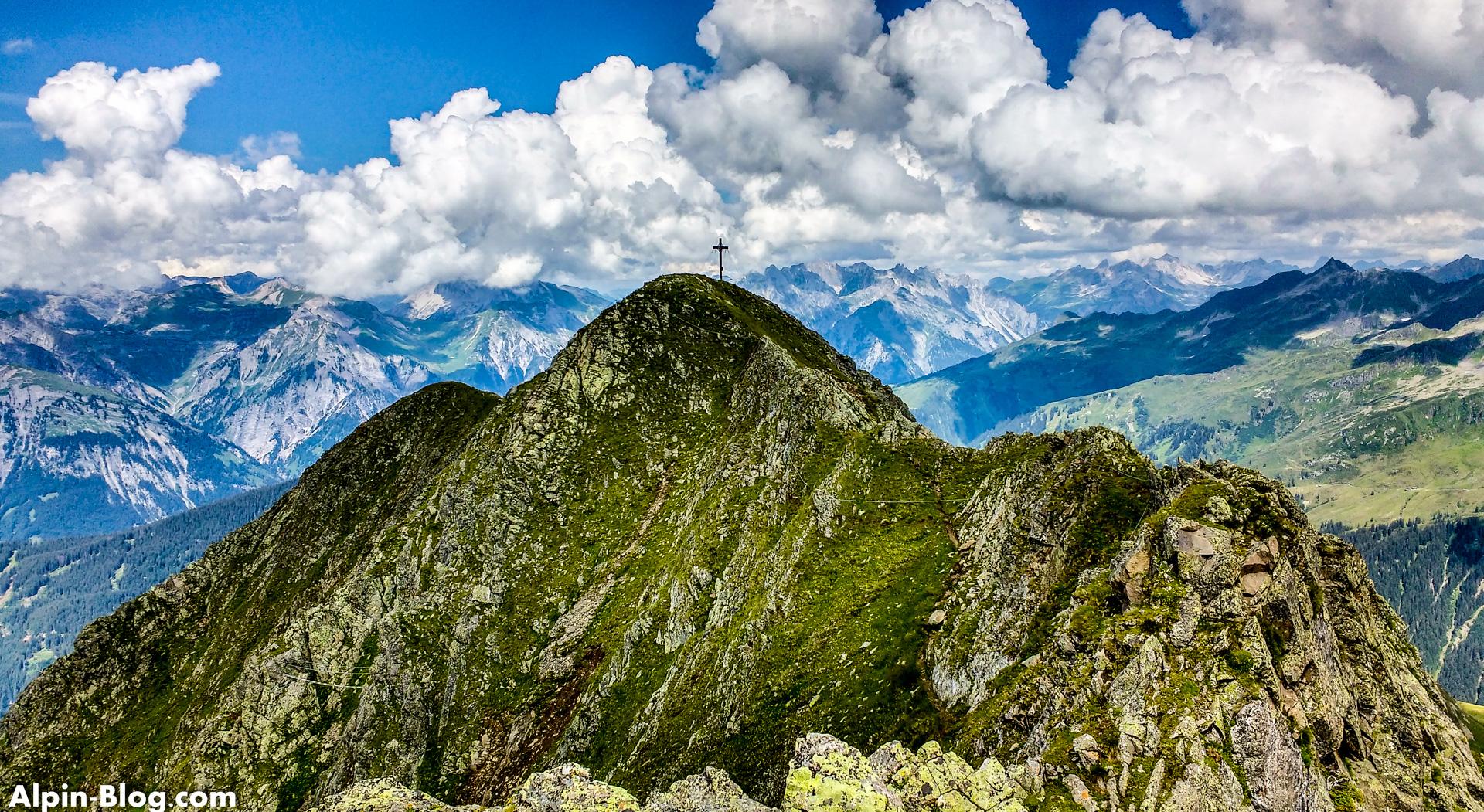 Klettersteig Hochjoch : Hochjoch klettersteig alpin