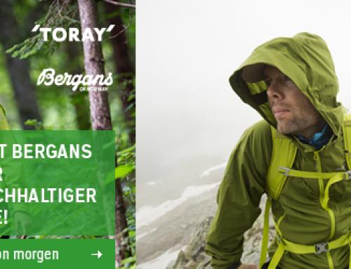 Bergans und Toray suchen Produkttester für neues Material!