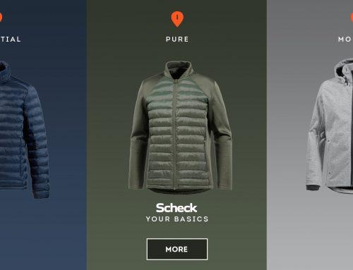"""Advertisement: Neue Marke """"Scheck"""""""
