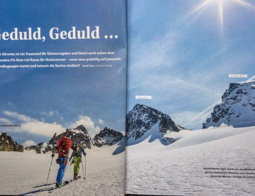 Anzeige: ALPIN – Das Berg Magazin: Silvretta Skitouren Special