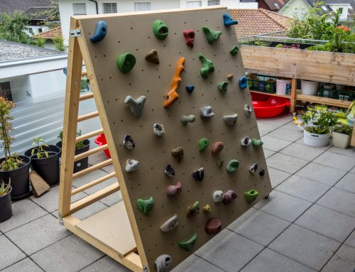 DIY: Mobile (Indoor-)Kletterwand für Kinder
