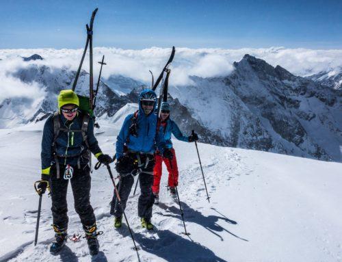 Auf Skihochtour im Berner Oberland