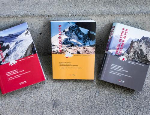 Angelesen: Hochtouren-Literatur vom Topo.Verlag
