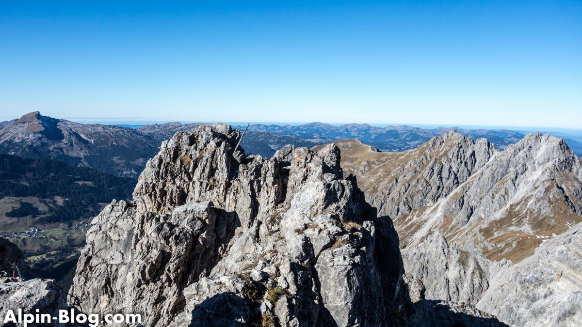 Klettersteig Mindelheimer : Alpin mindelheimer klettersteig