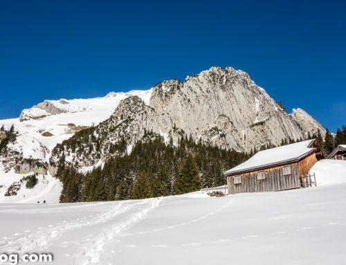 Erster Winterausflug zum Altmann